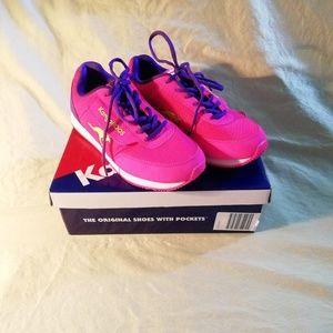 KangaROOS pink sneakers size 6 (7.5W)